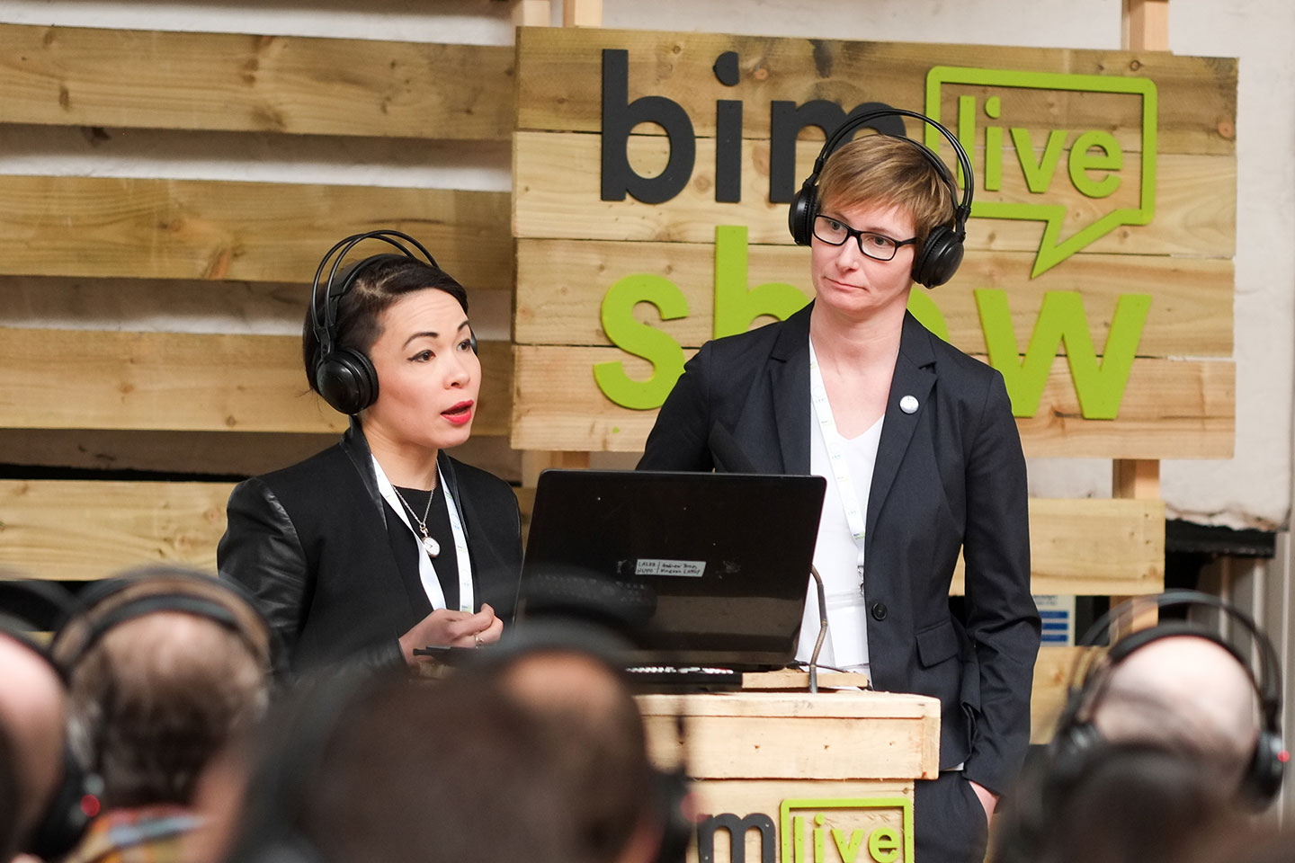 BIM Show Live - May Winfield and Sarah Rock