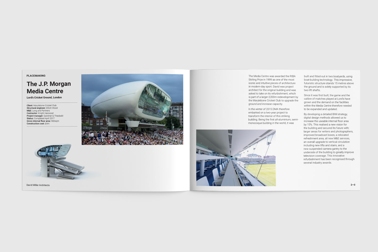 David Miller Architects - Brochure pages