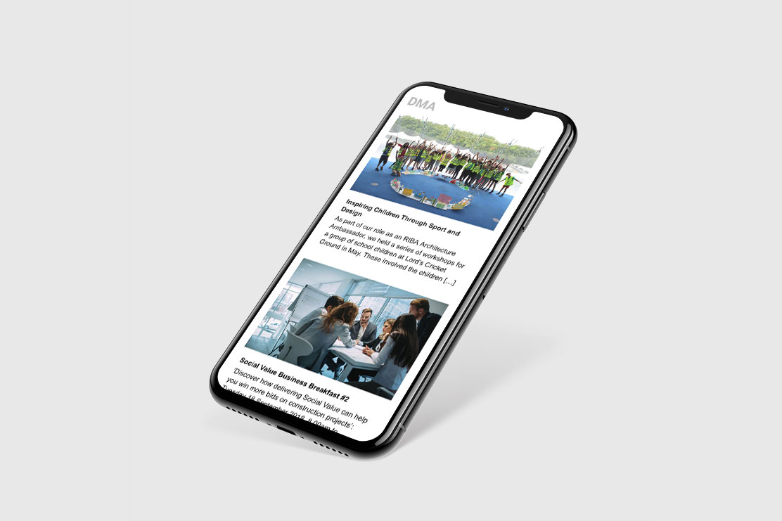 David Miller Architects – responsive email template