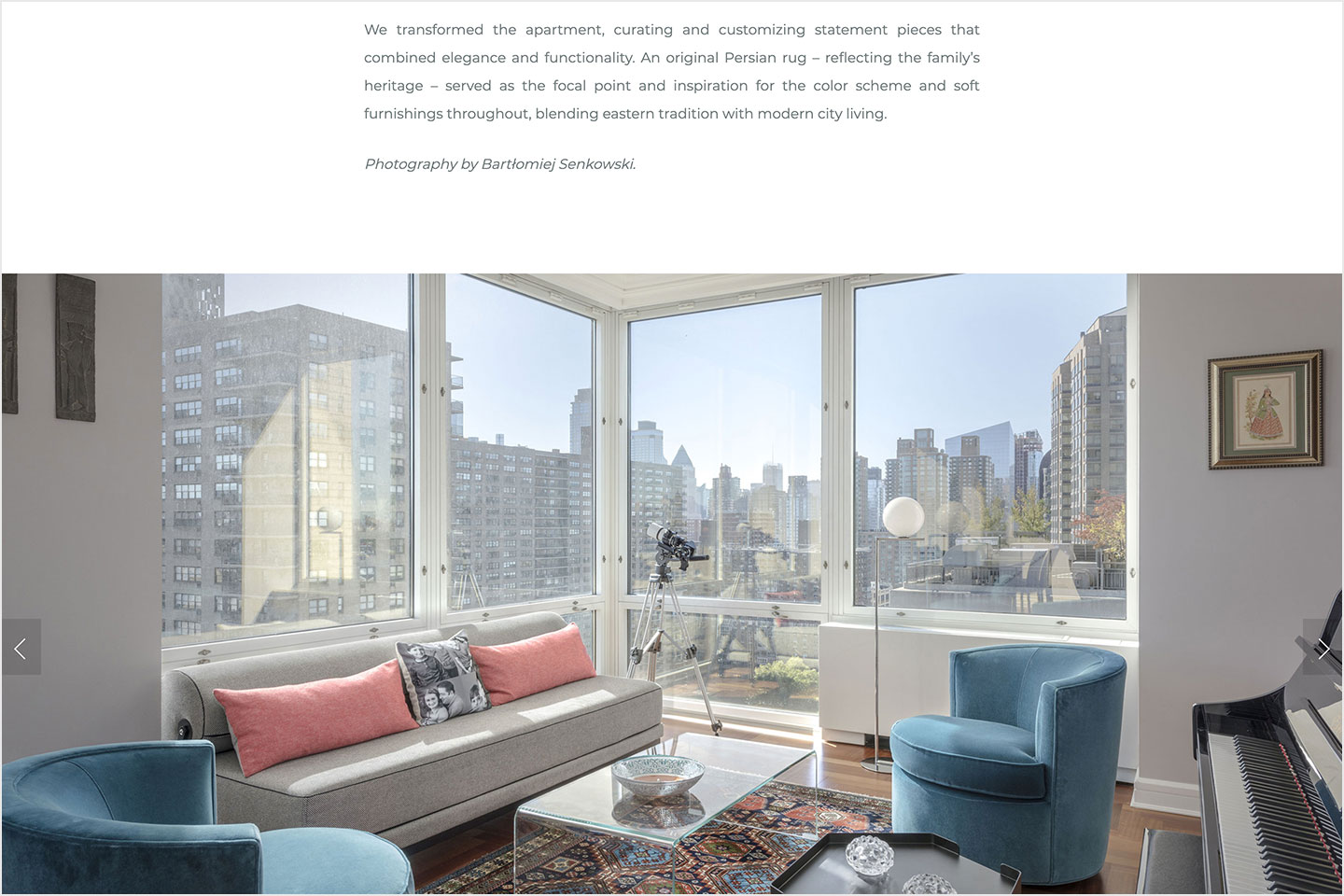 A screenshot of the Anat Soudry Architect website