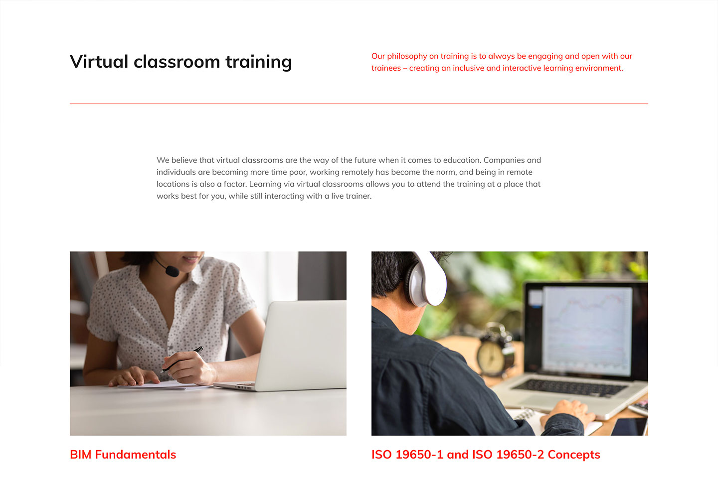 Digital Node: Virtual classroom training